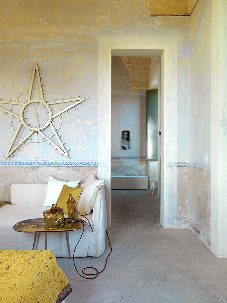 parete bianca stella