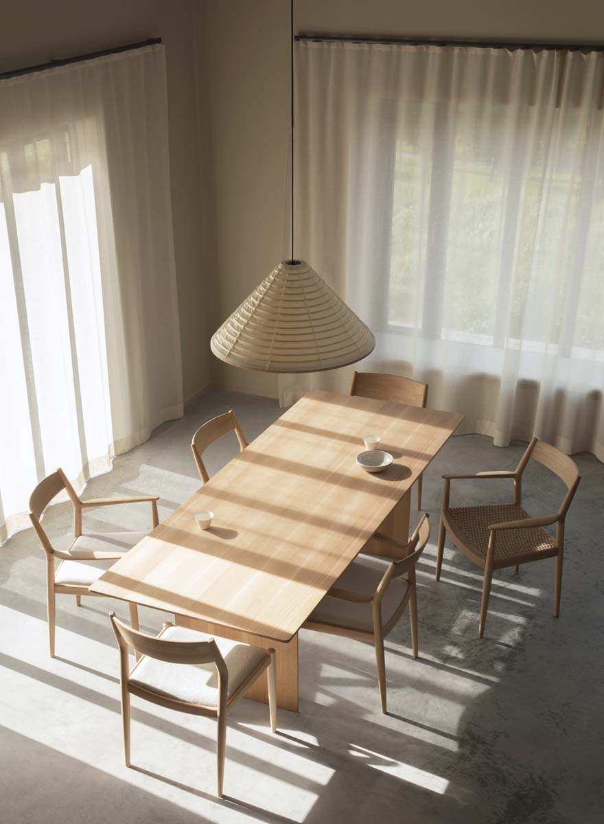 sala-da-pranzo-idee-Norm-Architects-Archipelago-House-Svezia-living-corriere