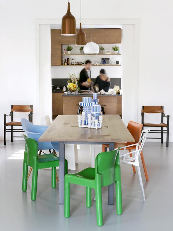 sala-da-pranzo-idee-sedie-diverse-living-corriere