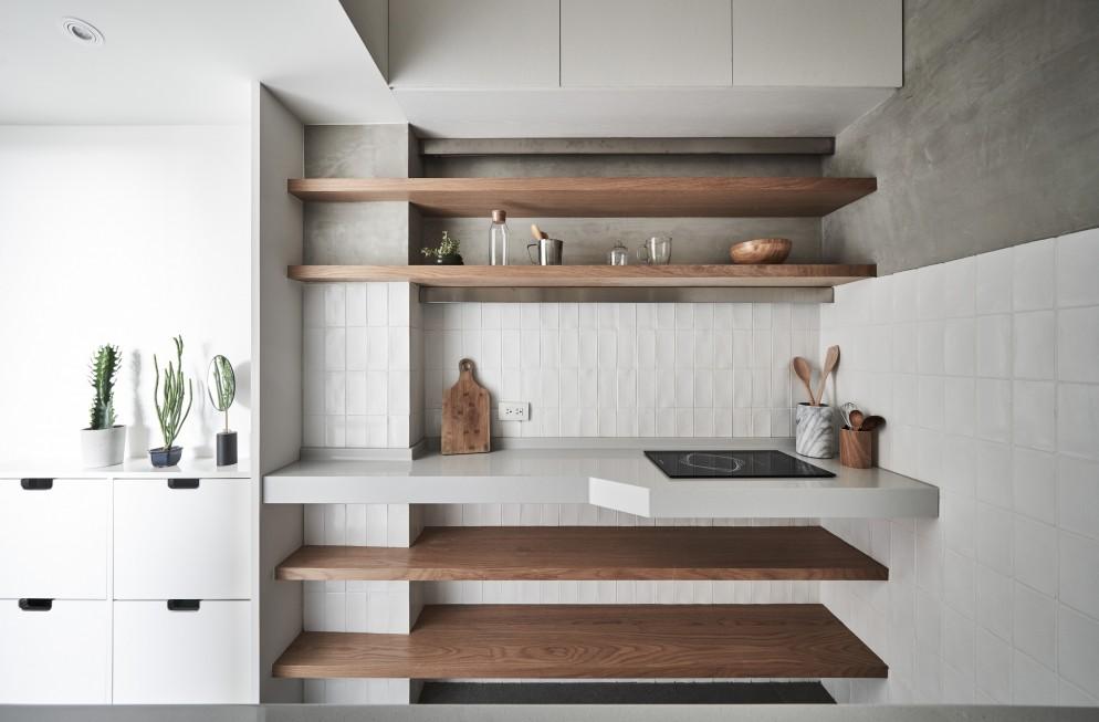 Cucine piccole organizzate