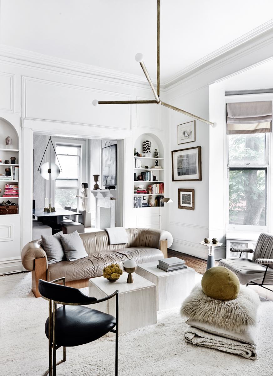 Lampadario soggiorno bianco