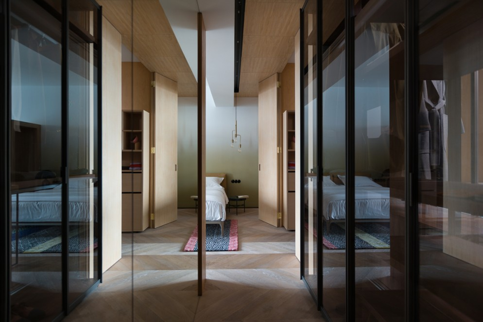 cabine armadio corridoio