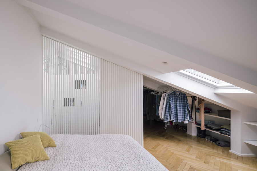 cabine armadio mansarda