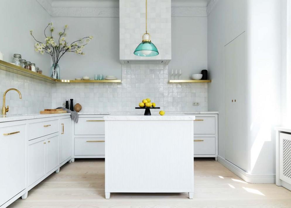 cucine-moderne-senza-pensili-mensole-white-arrow-living-corriere