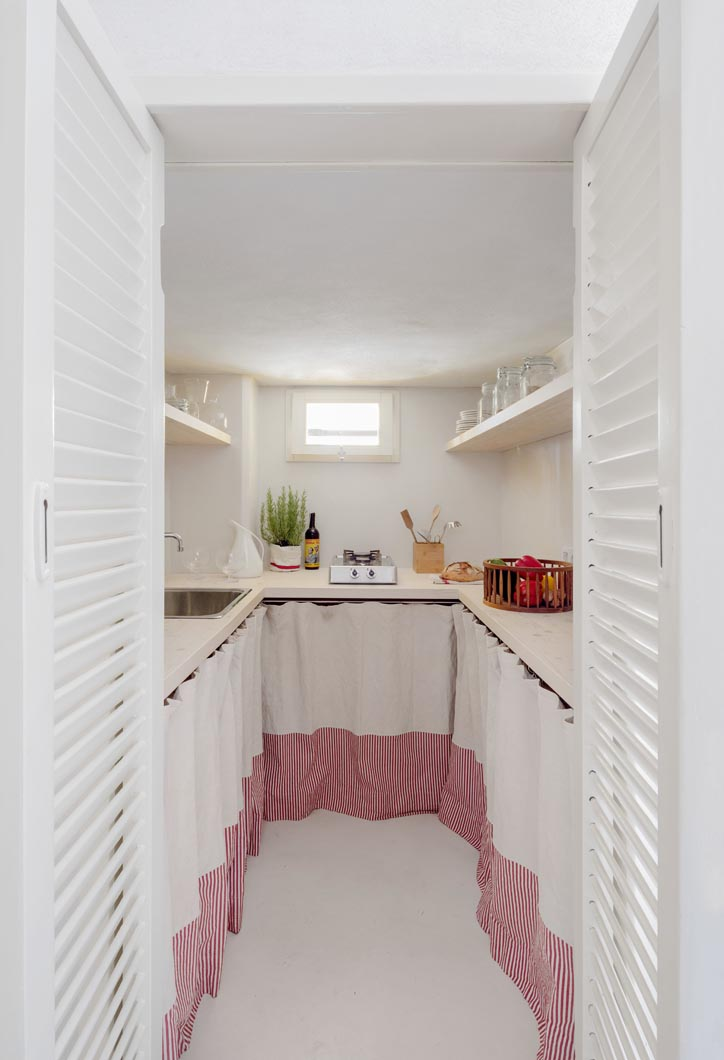 cucine piccole bianche