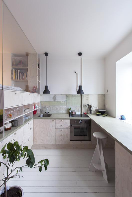 cucine piccole monolocali
