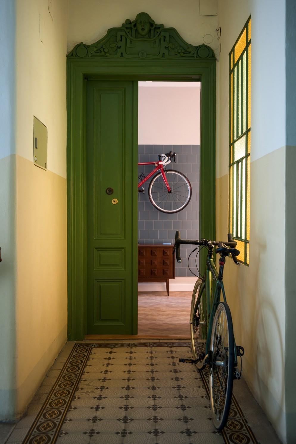 ingressi moderni bicicletta