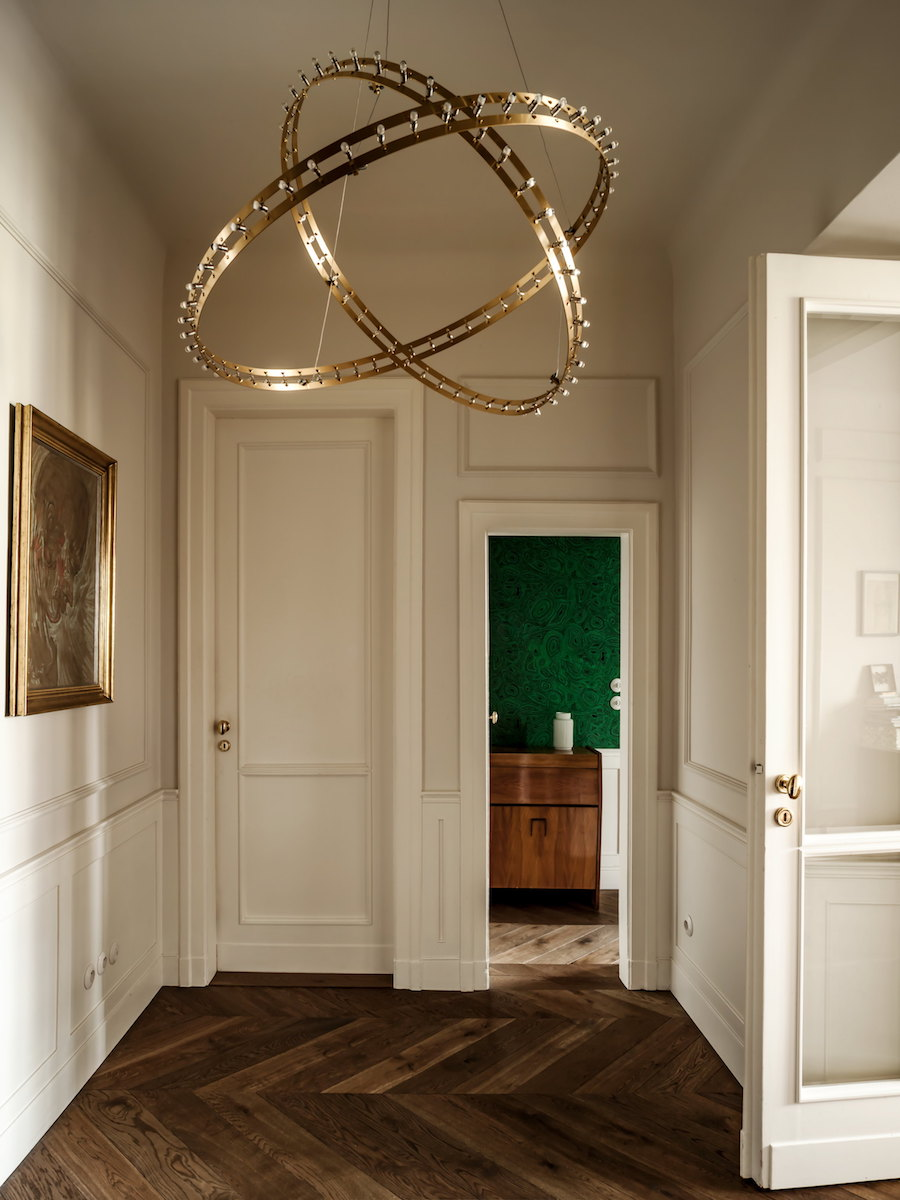ingressi moderni lampadario