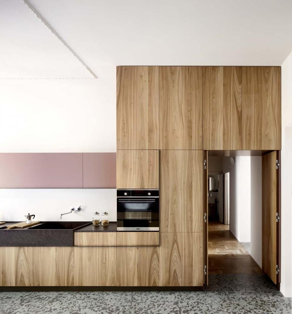 porta nascosta cucina