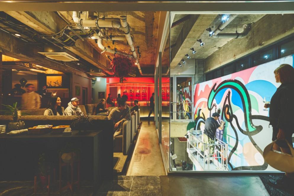 05_BnA_WALL - Key visual - 1F lounge (Photo by Takeshi Sasaki)
