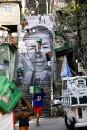 06 28 Millimètres, Women Are Heroes, Action dans la Favela Morro da Providencia, Escalier, Rio de Janeiro, 2008