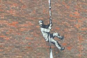 Cosa c'entra Banksy con Oscar Wilde e un carcere in vendita