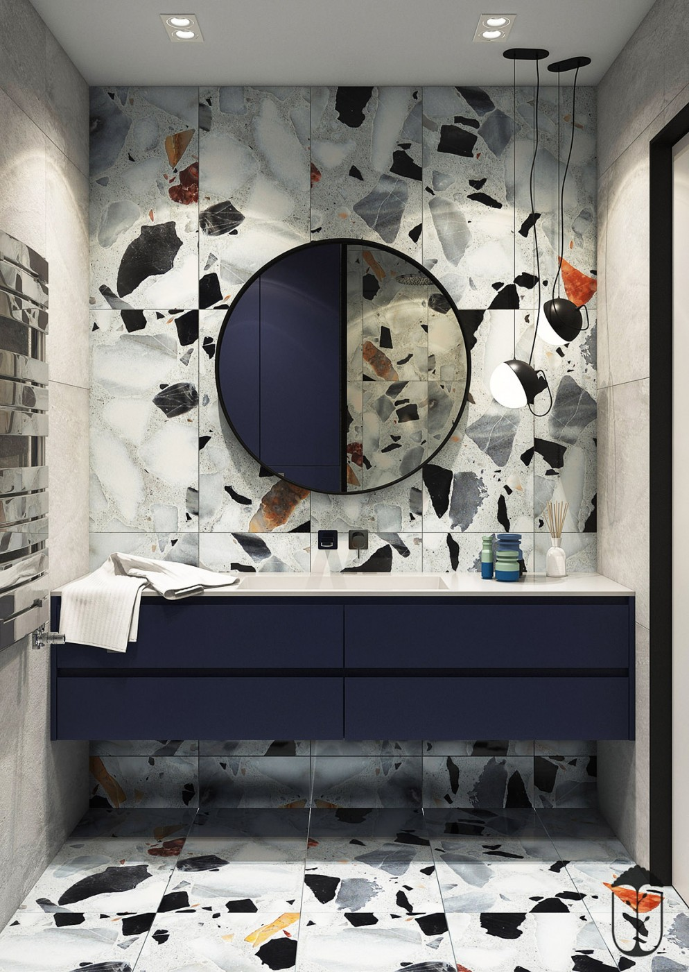 19  blu-navy-colore pareti_living-corriere