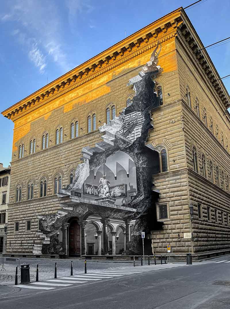 JR-La-Ferita-Palazzo-Strozzi