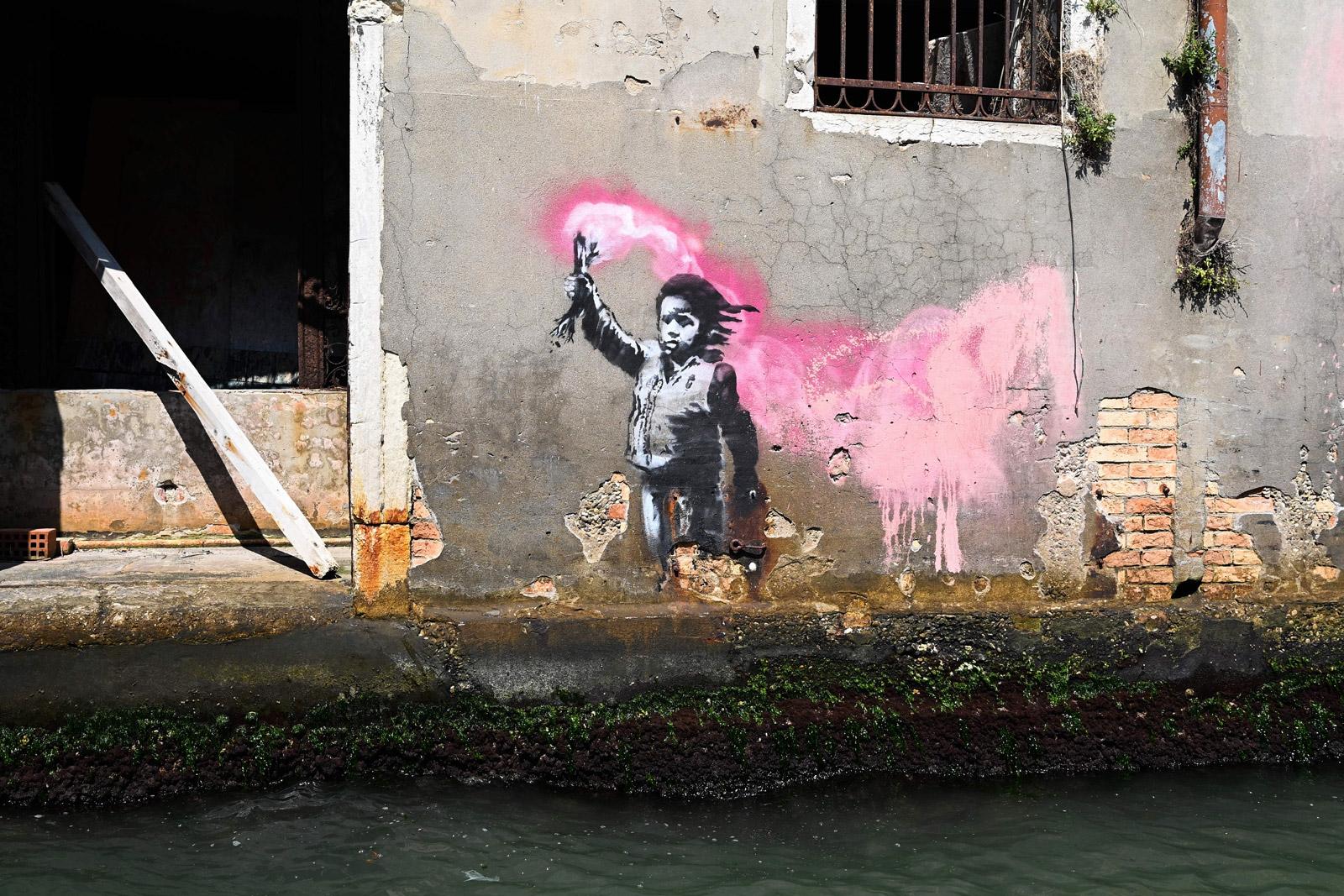 banksy-opere-venezia-GettyImages-1164349860