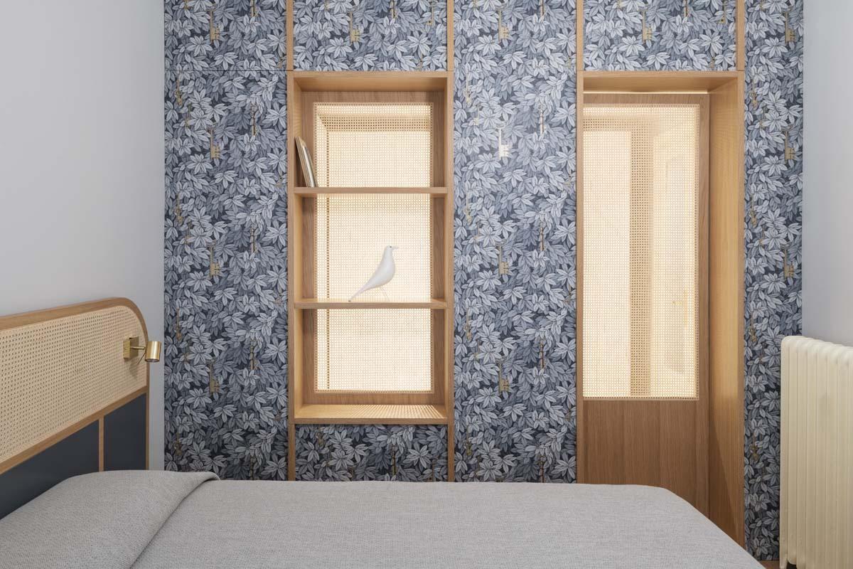 Carte da parati per la camera da letto: gli esempi più eleganti