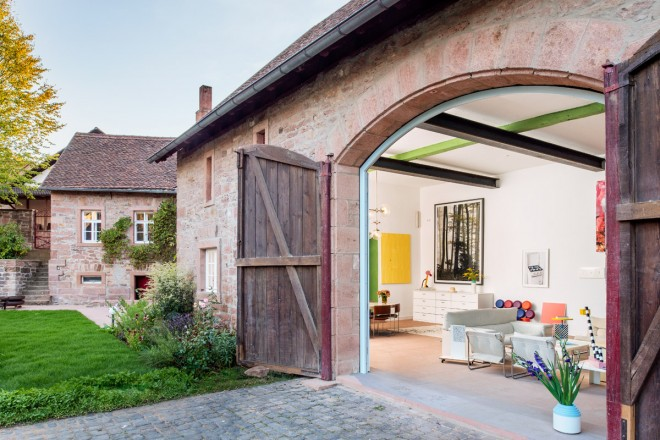 casa-di-campagna-collezionisti-Friedrich-Johanna-Gräfling-05