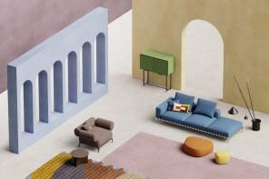 Abbinamento colori pastello: 6 palette dal set di Living