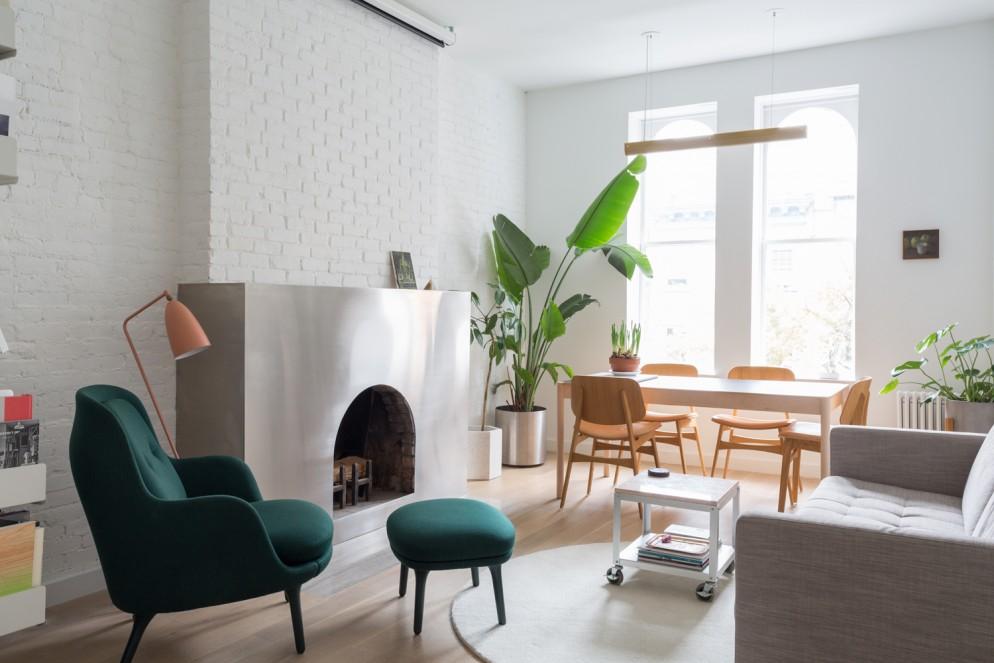 soggiorno moderno immagini bianco legno (2)