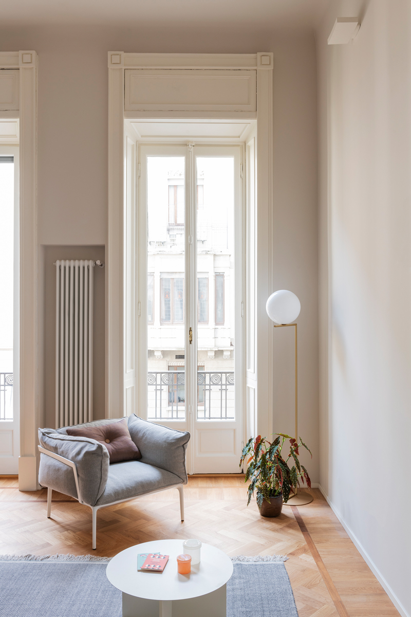 soggiorno moderno immagini bianco legno (4)