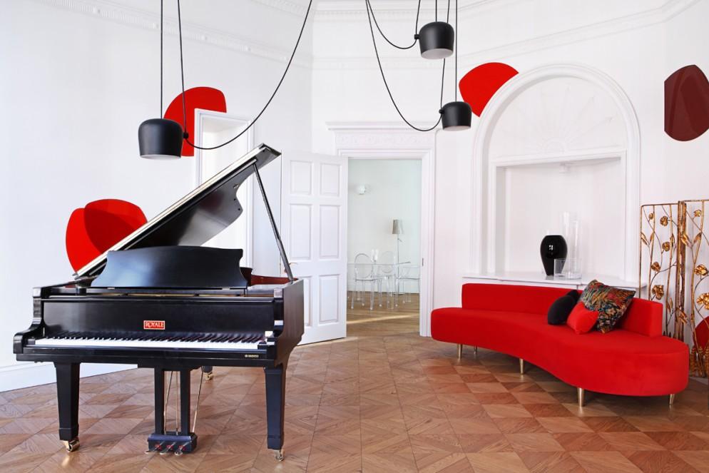 soggiorno moderno immagini bianco legno (5)