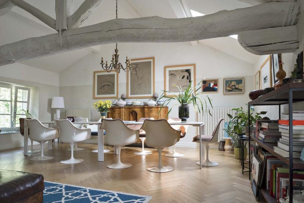soggiorno moderno immagini bianco legno (8)