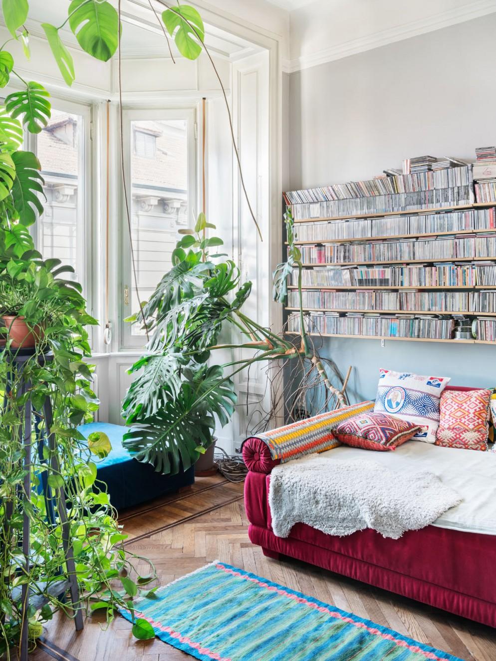 urban jungle arredamento finestra