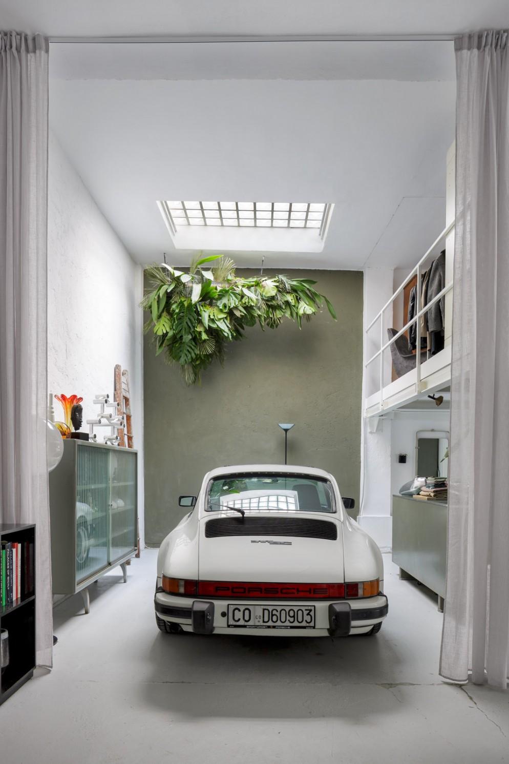 urban jungle arredamento soffitto