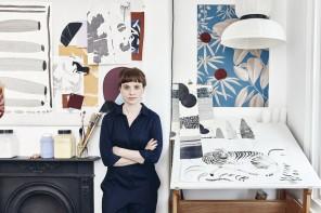 Anna Glover, carte da parati come sogni botanici