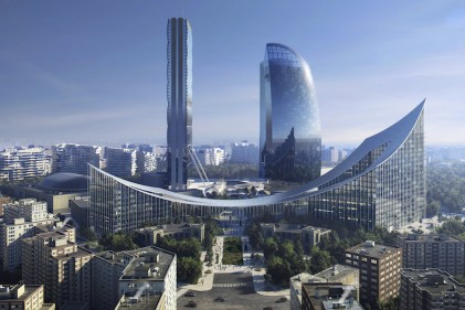 The Portico by BIG - Bjarke Ingels Group
