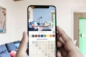 6 app per provare il colore delle pareti