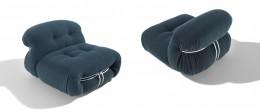 CASSINA_Soriana armchair_Afra_Tobia Scarpa