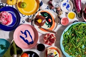Caos a colori nei piatti firmati da un famoso chef