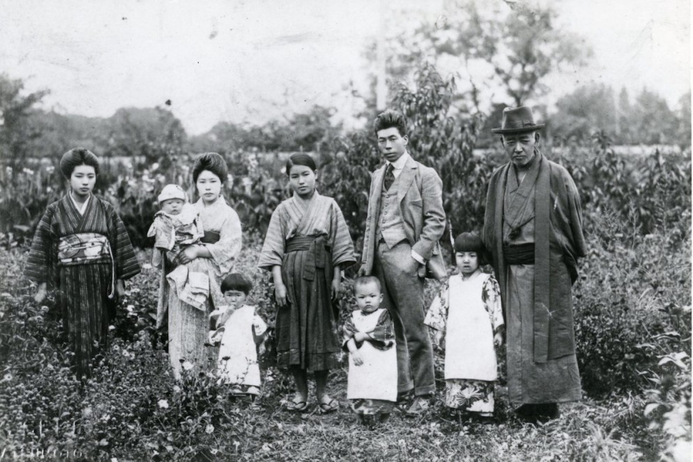 Yayoi-with-her-family-scaled
