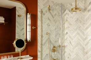 Tornano i bagni classici, eleganti ma con idee di tendenza