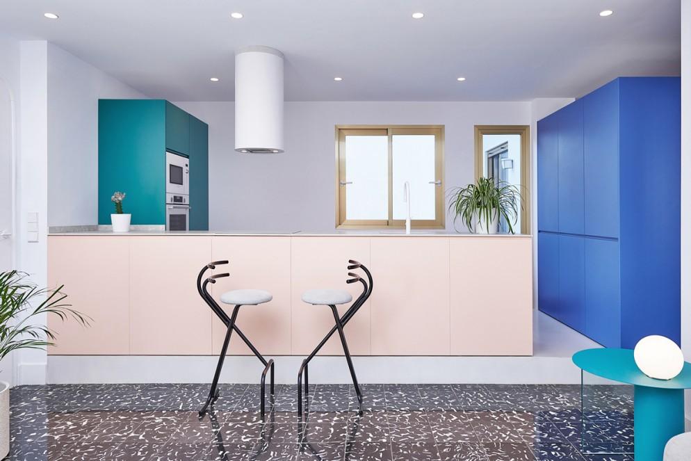 cucina a scomparsa colori