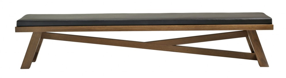 fratelli boffi Silvanus - long bench - design Archer Humphryes Architects
