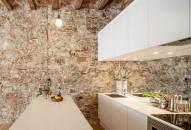 pareti in pietra idee cucina