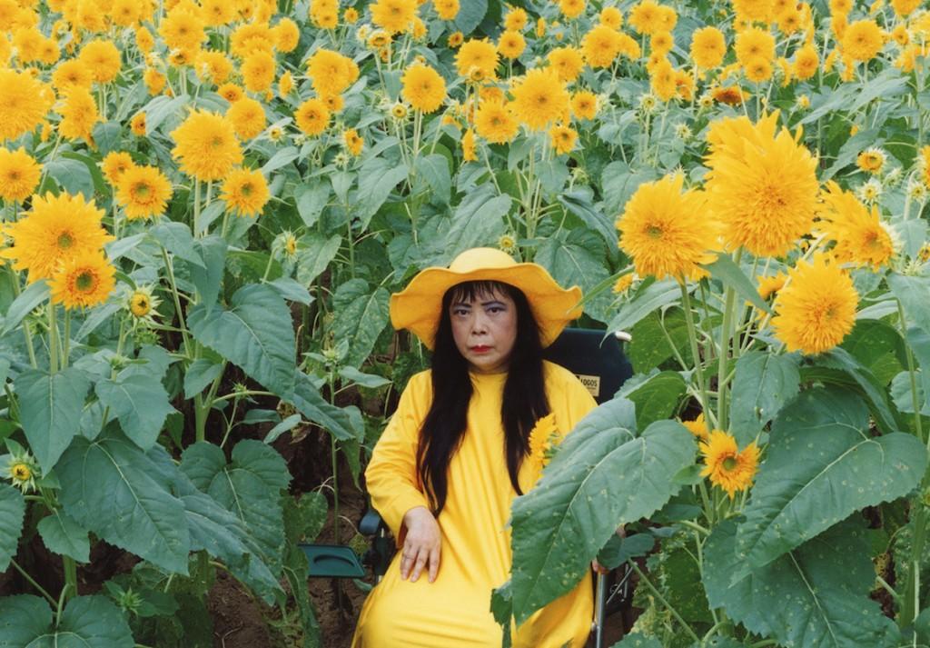 Sunflower, Kusama, 2000
