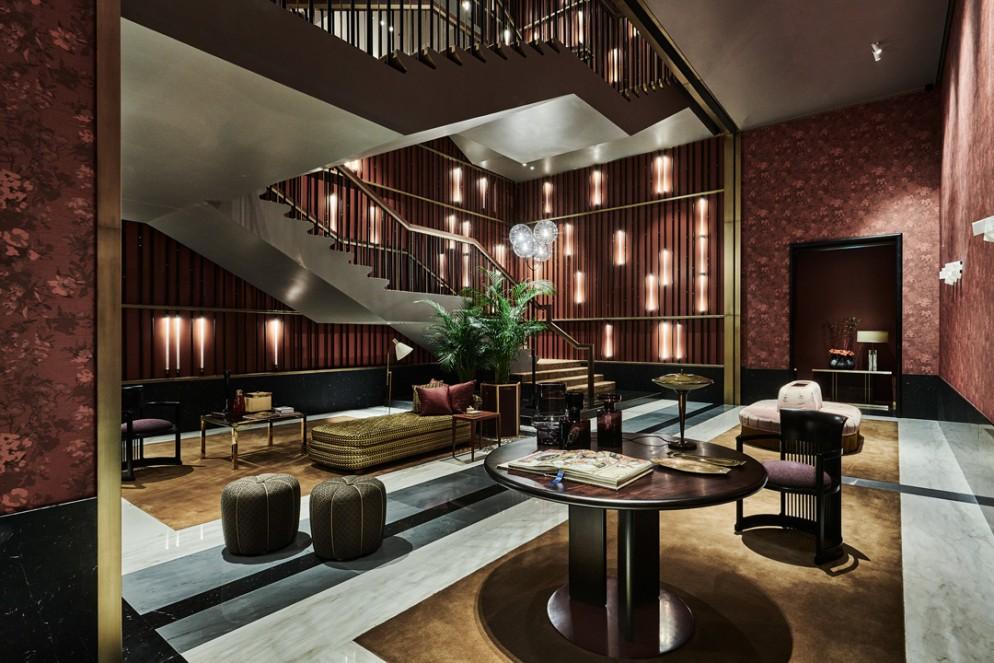 09 The Arts Club Dubai staircase