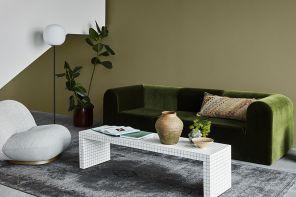 Pareti colorate in soggiorno: come trovare il giusto tono