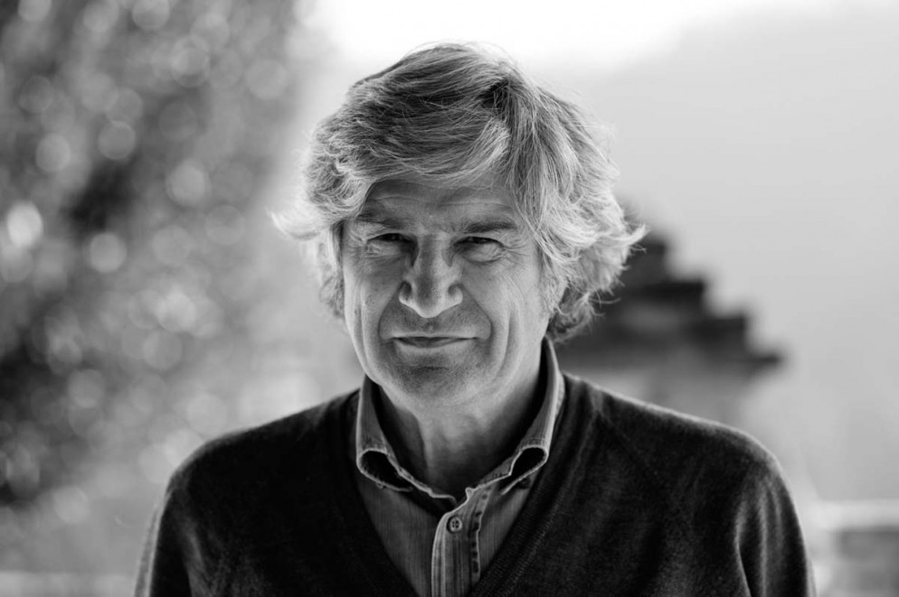Giuseppe Penone, ritratto, San Raffaele 2013
