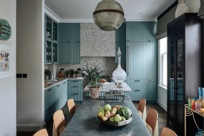Colore Tiffany: pareti e arredi per illuminare la casa
