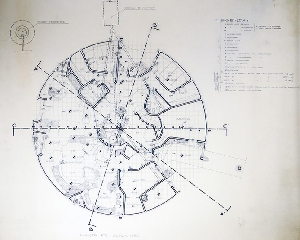 cupola-Archivio_Dante_Bini_pianta_provvisoria