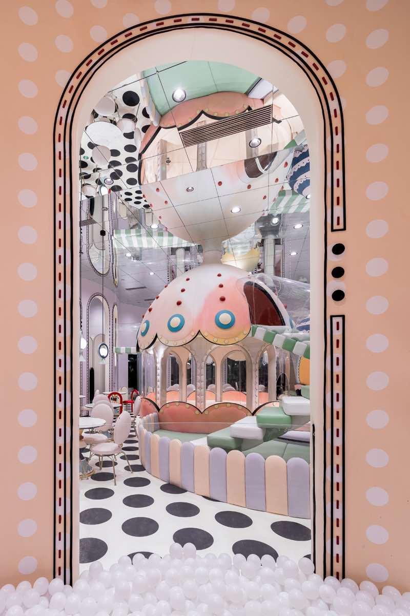 kawaii-interior-design-Loong-Swim-Club-by-XLiving-Egg-Shell-Castle-3
