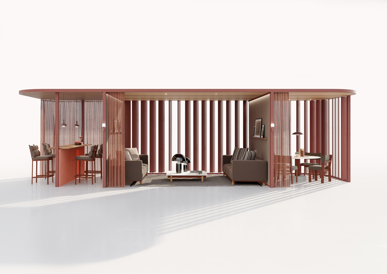 kettal Pavilion O - HUB Curved studio Front copia
