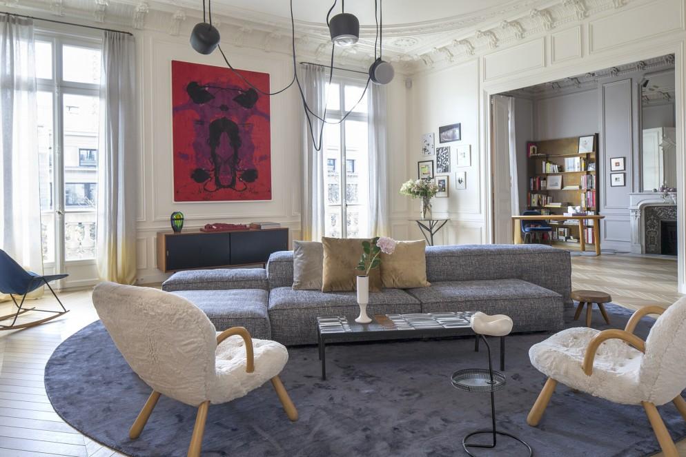 stile eclettico parigino arredare casa