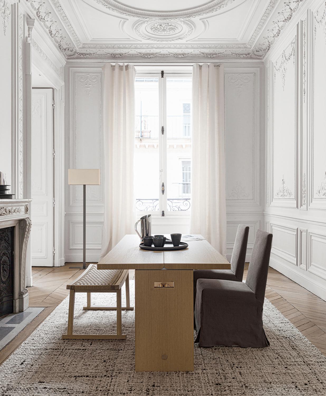 tavoli-soggiorno-design-2021-Maxalto_Cuma-livingcorriere