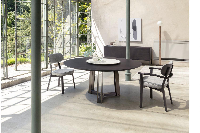 tavoli-soggiorno-design-2021-Porada SHIBUMI TONDO 2-livingcorriere