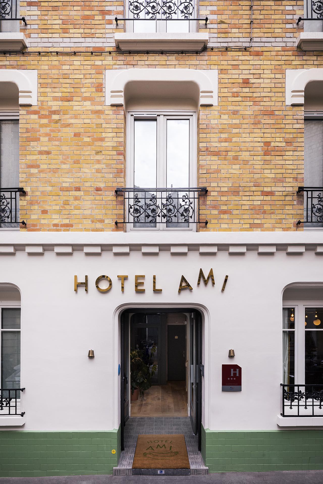 Hotel Ami, a Parigi il primo boutique hotel firmato Gesa Hansen